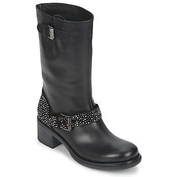 鞋子 女士 短筒靴 Janet Sport CARYFENO 黑色
