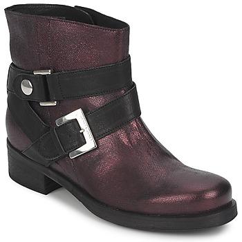鞋子 女士 短筒靴 Janet&Janet URSUS VAN 波尔多红