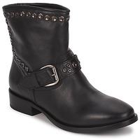 鞋子 女士 短筒靴 JFK MASELLE 黑色
