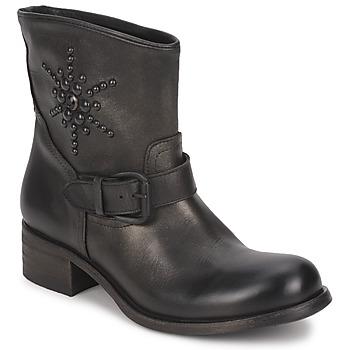 鞋子 女士 短筒靴 JFK OSSIR 黑色