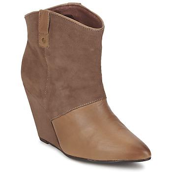 鞋子 女士 短筒靴 Koah LIBERTY 灰褐色