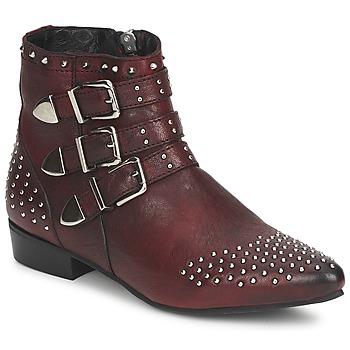 鞋子 女士 短筒靴 Koah FYONA 波尔多红