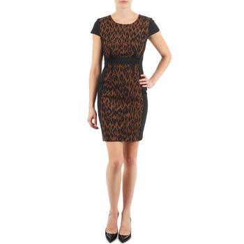 衣服 女士 短裙 Manoukian EMMA 黑色 / Leopard