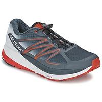 鞋子 男士 跑鞋 Salomon 萨洛蒙 SENSE PROPULSE 灰色 / 红色