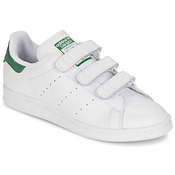 鞋子 球鞋基本款 Adidas Originals 阿迪达斯三叶草 STAN SMITH CF 白色 / 绿色