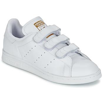 鞋子 球鞋基本款 Adidas Originals 阿迪达斯三叶草 STAN SMITH CF 白色