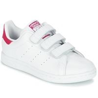 鞋子 女孩 球鞋基本款 Adidas Originals 阿迪达斯三叶草 STAN SMITH CF C 白色