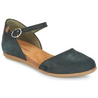 鞋子 女士 平底鞋 El Naturalista STELLA 黑色