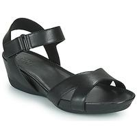 鞋子 女士 凉鞋 Camper 看步 MICRO 黑色