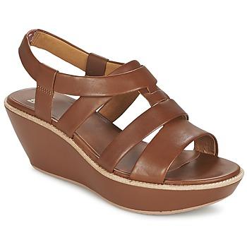 鞋子 女士 凉鞋 Camper 看步 DAMAS 棕色
