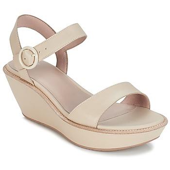 鞋子 女士 凉鞋 Camper 看步 DAMAS 米色