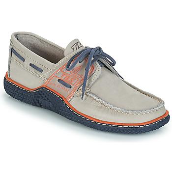 鞋子 男士 船鞋 TBS GLOBEK 灰色 / 蓝色