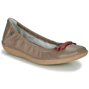 鞋子 女士 平底鞋 TBS MACASH 灰褐色