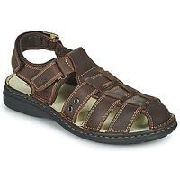 鞋子 男士 涼鞋 TBS BARROW 棕色
