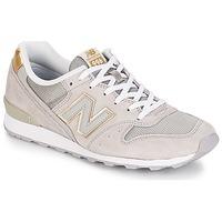 鞋子 女士 球鞋基本款 New Balance新百伦 WR996 米色