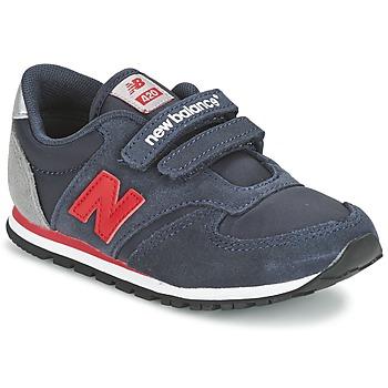 鞋子 儿童 球鞋基本款 New Balance新百伦 KE420 海蓝色 / 红色