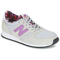 鞋子 女士 球鞋基本款 New Balance新百伦 WL420 灰色 / 紫罗兰