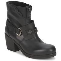 鞋子 女士 短靴 Strategia MAUTAU 黑色