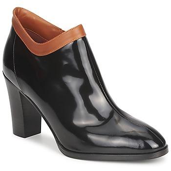 鞋子 女士 短靴 Sonia Rykiel 索尼亚·里基尔 654802 黑色 / 驼色