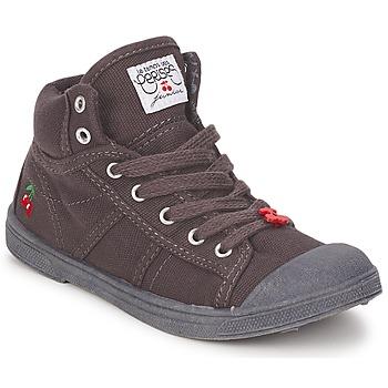 鞋子 儿童 高帮鞋 Le Temps des Cerises BASIC-03 KIDS 棕色