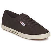 鞋子 女士 球鞋基本款 Superga 2950 巧克力色