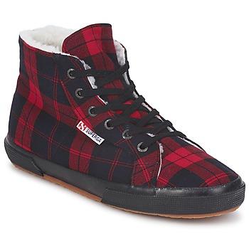 鞋子 高帮鞋 Superga 2095 红色 / 黑色