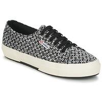 鞋子 女士 球鞋基本款 Superga 2750 FANTASY 黑色 / 白色