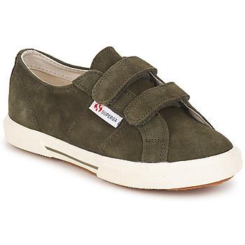 鞋子 儿童 球鞋基本款 Superga 2950 Army