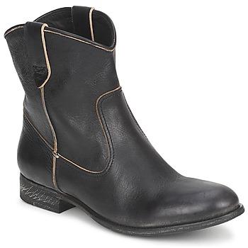 鞋子 女士 短筒靴 n.d.c SAN MANUEL CAMARRA SLAVATO 黑色