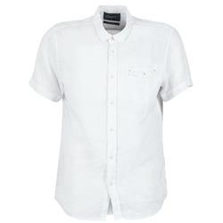 衣服 男士 短袖衬衫 Chevignon C-LINEN 白色