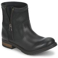 鞋子 女士 短筒靴 Casual Attitude ISPINI 黑色
