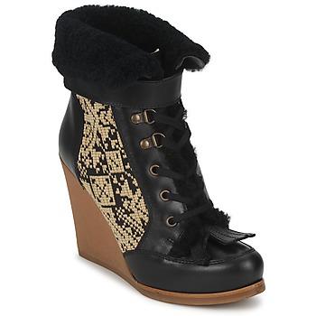 鞋子 女士 短靴 Etro 艾特罗 DENISE 黑色 / 米色