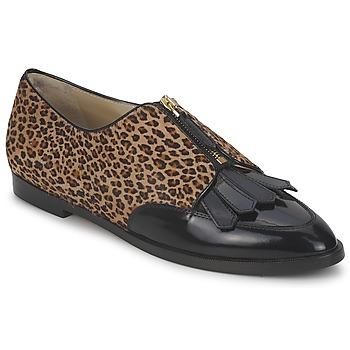 鞋子 女士 德比 Etro 艾特罗 EBE 黑色 / 米色