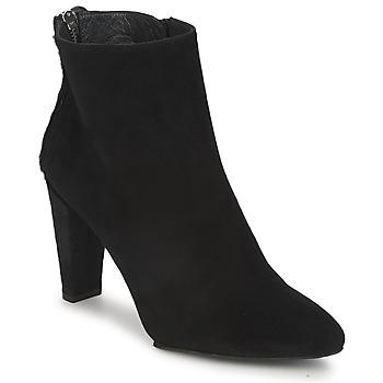鞋子 女士 短筒靴 Stuart Weitzman 斯图尔特 韦茨曼 ZIPMEUP 黑色