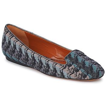 鞋子 女士 皮便鞋 Missoni WM004 藍色
