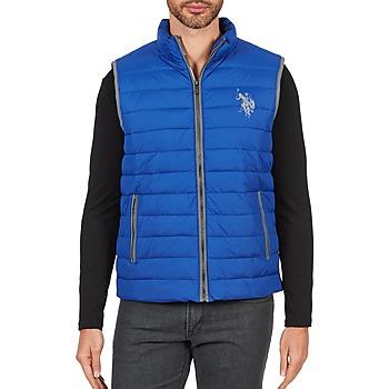 衣服 男士 羽绒服 U.S Polo Assn. 美国马球协会 USPA 1890 蓝色