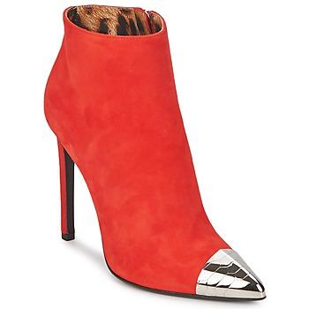鞋子 女士 短靴 Roberto Cavalli 罗伯特·卡沃利 WDS213 红色