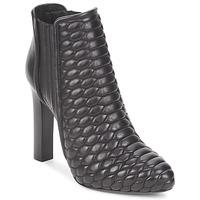 鞋子 女士 短靴 Roberto Cavalli 罗伯特·卡沃利 WDS227 黑色