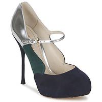 鞋子 女士 高跟鞋 John Galliano AO2179 黑色 / 灰色