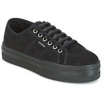 鞋子 女士 球鞋基本款 Victoria 维多利亚 BLUCHER ANTELINA PLATAFORMA 黑色