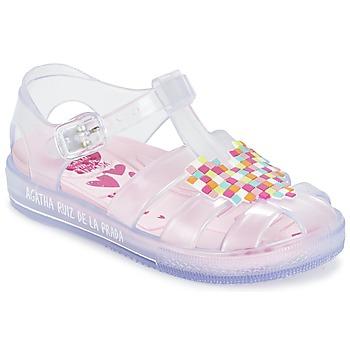 鞋子 女孩 凉鞋 Agatha Ruiz de la Prada 阿嘉莎·鲁兹·德 BASILA 白色