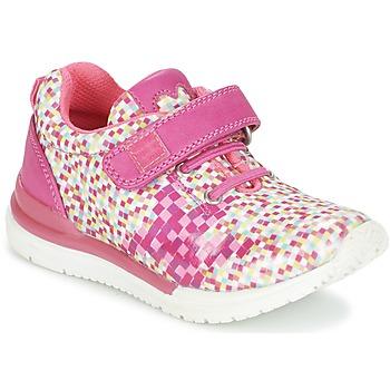 鞋子 女孩 球鞋基本款 Agatha Ruiz de la Prada 阿嘉莎·鲁兹·德 ADENOR 玫瑰色