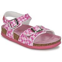 鞋子 女孩 凉鞋 Agatha Ruiz de la Prada 阿嘉莎·鲁兹·德 ANNA 紫红色