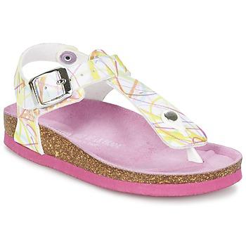 鞋子 女孩 凉鞋 Agatha Ruiz de la Prada 阿嘉莎·鲁兹·德 MARGANA 多彩