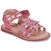 鞋子 女孩 凉鞋 Agatha Ruiz de la Prada 阿嘉莎·鲁兹·德 NUEL 玫瑰色