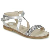 鞋子 女孩 凉鞋 Garvalin COSMOS 银色