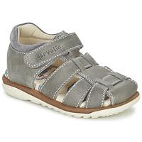 鞋子 男孩 凉鞋 Garvalin GALERA 灰色