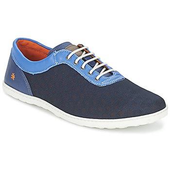 鞋子 男士 球鞋基本款 Art QWERTY 蓝色