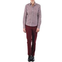 衣服 女士 休闲裤 Gant C. COIN POCKET CHINO 波尔多红