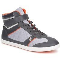 鞋子 女士 高帮鞋 Dorotennis MONTANTE LACETS VELCRO -煤灰色